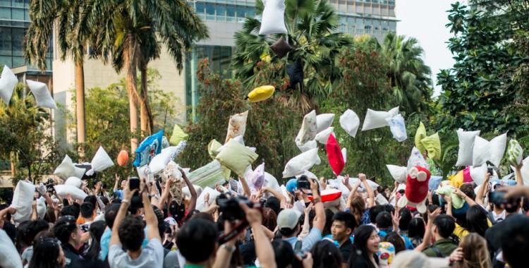 4th Hong Kong International Pillow Fight Day